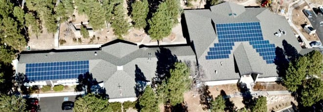 solar church flagstaff power