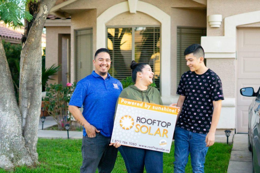 Happy Rooftop Solar Customers