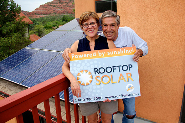 Happy Rooftop Solar customers