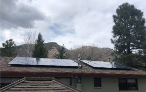 Flagstaff residential solar installation